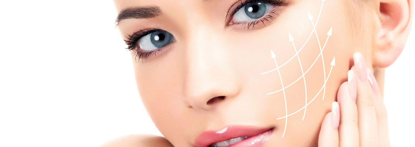Kosmetikbehandlung Gesichtspflege für reife Haut